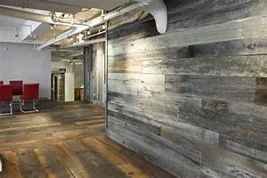 custom reclaimed wood wall paneling by union square With best brand of paint for kitchen cabinets with reclaimed wood art wall