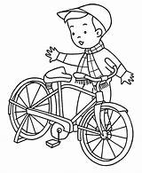 Coloring Bicycle Popular sketch template