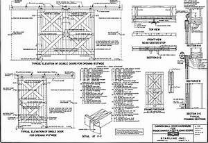 barn door plans small farmer39s journal With barn door building plans