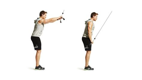 straight arm pulldown mens fitness