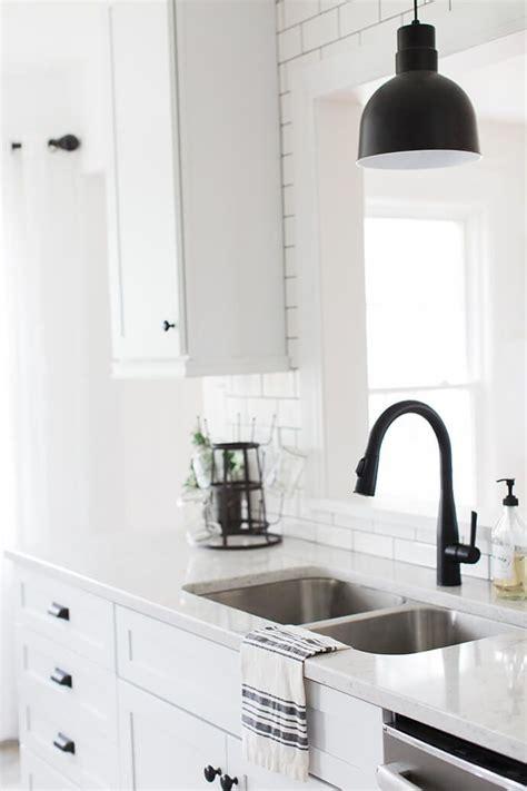black matte hardware  add elegance   home