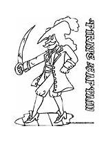 Pirate Coloring Pages Swashbuckler Sword Print Scurvy sketch template