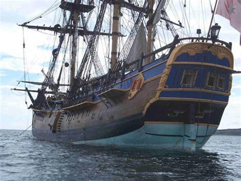HMS Endeavour Sailing Ship