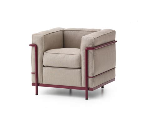 canap lc2 le corbusier lc2 armchair lounge chairs from cassina architonic