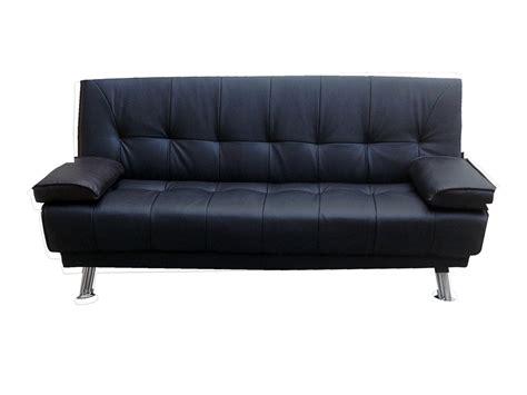 montage canapé bz canapé clic clac quot quot 3 places noir 65171