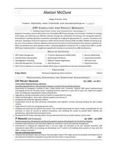sle resume erp consultant erp consultant it cv pdfsr