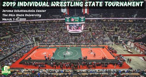 ohsaa individual wrestling state tournament coverage