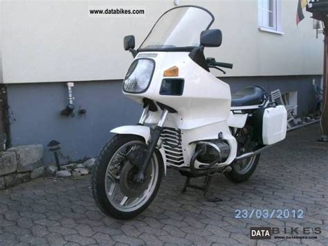 1987 Bmw R 65 Rt Type 247