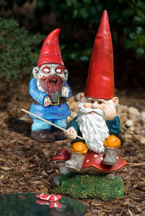 zombie garden gnomes  great invasion  home  gnome