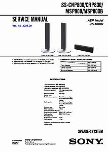 Sony Htd-710sf  Htd-710ss  Rdr-hx710  Rdr-hx910 Service Manual