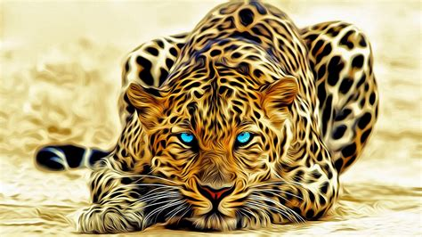3d Wallpapers Of Animals by Leopard Art Abstract 3d Wallpaper Hd 3840x2400