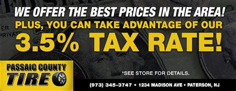 passaic county tire paterson nj tires auto repair shop
