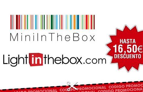 light mini in the box codigos descuento en light in the box y mini in the box
