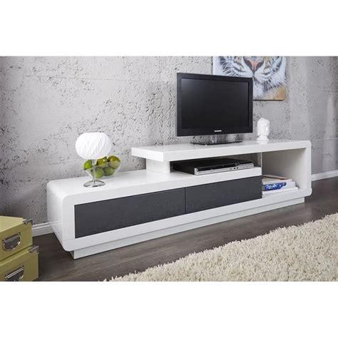 meuble tv gris laque meuble tv meuble de salon marvin blanc gris laqu 233 achat vente meuble tv meuble tv meuble de