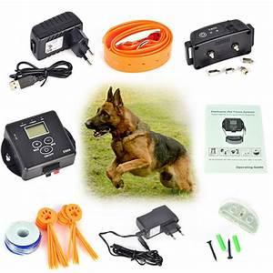 pet dog fence electric waterproof rechargeable electronic With top rated electric dog fence