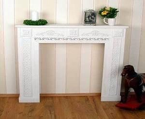 Kaminumrandung Weiß Modern : g nstige kaminumrandung wei dekokamin wei neu ~ Michelbontemps.com Haus und Dekorationen