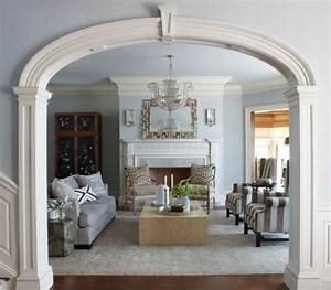 beautiful archway designs for elegant interiors With arch design for living room