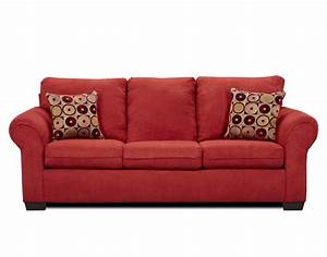 fabric red sofa sets attached back si 1640red 1640 With red suede sectional sofa