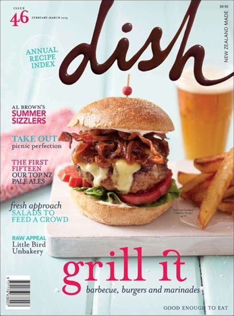 cuisine magazine dish magazine cover no 46 food magazine covers