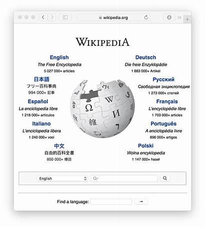 Wikipedia Wiki Software Homepage Wikimedia Advertisement