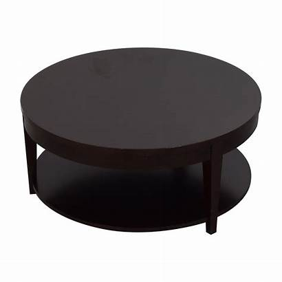 Coffee Table Round Rolling Tables Modern Macy