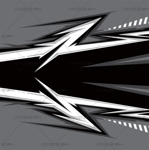 Vector Single Racing Graphic 022