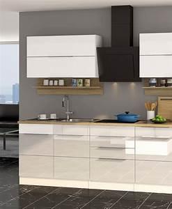 Küchenzeile Hochglanz Weiß : k chenzeile mit elektroger ten einbauk che ger ten k chenblock hochglanz weiss ebay ~ Orissabook.com Haus und Dekorationen