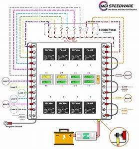 Relay Box Wiring Diagram