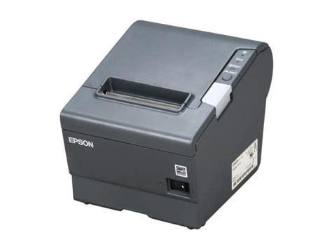 Epson Tm T88v Pos Thermal Receipt Printer Dark Gray
