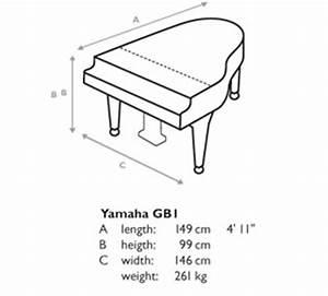 Baby Grand Piano Size | Yamaha Grand Pianos at Jaques ...