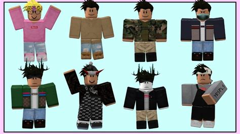 Roblox outfit ideas!! Prt. 3 (Boys edition) | Meredithplayz - YouTube