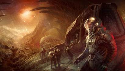 Sci Fi Crash Marco Mazzoni Digital Paintings