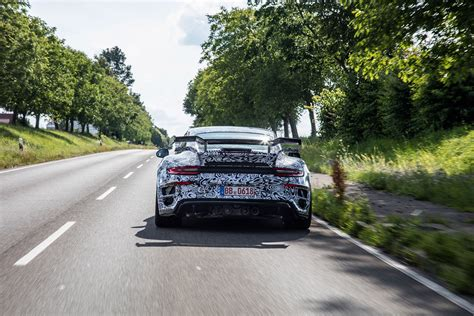 2017 Porsche 911 Turbo S Becomes Techart Gtstreet R Gets