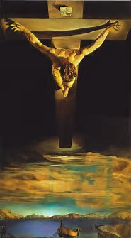 Image result for images salvador dali christ in the cross