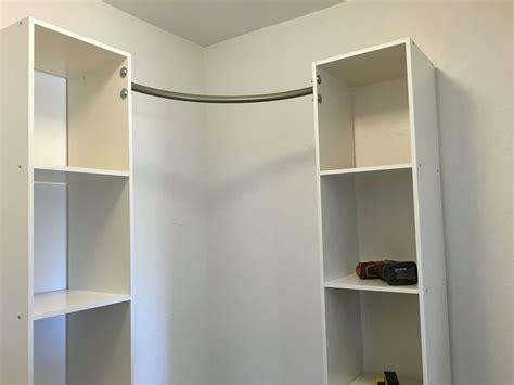 Diy Closets by Corner Closet Diy Hometalk