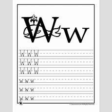 Learn Letter W  Woo! Jr Kids Activities