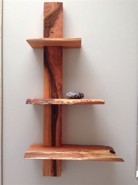 Shelving Projects by Live Edge Cedar Shelves By Julieanne Hage And