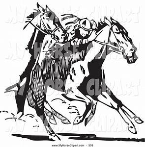 Kentucky Derby Horse Race Clipart | ClipArtHut - Free Clipart