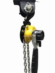 250kg Hand Operated Manual Lever Hoist Chain Block Lifter