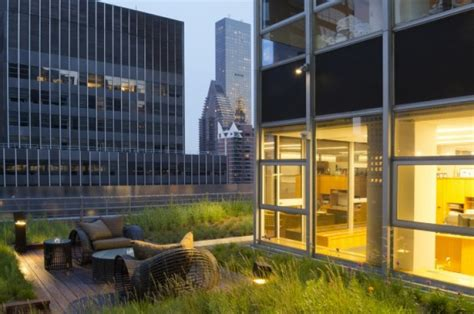 private golf green  rooftop oasis redefine work