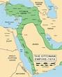 Ottoman Empire 1914 | ottomanEmpire1914-38.gif | Maps ...