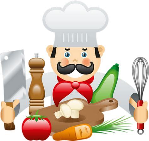 clipart cuisine gratuit chef cuisinier illustration