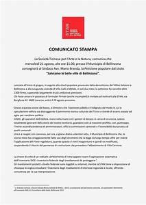 Stan Ticino Comunicati