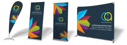 photo booths banner stands displays aluminum signs and custom
