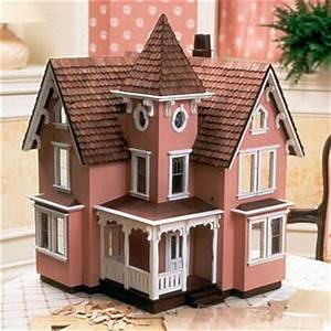 12quot Scale Farmhouse Dollhouse Kit The Magical Dollhouse
