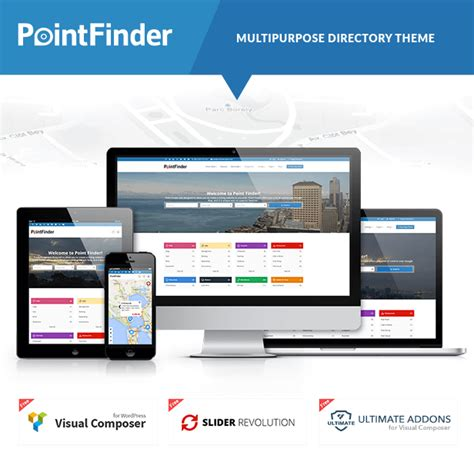 point finder directory wordpress theme  webbu