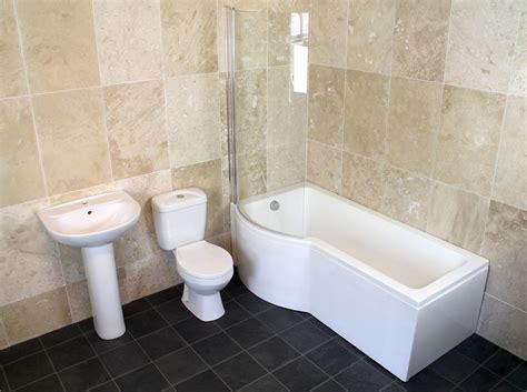 Mm Or Mm P-shaped Shower Screen Bath Bathroom