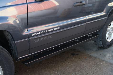 rock hard  patriot series rocker guards  jeep grand