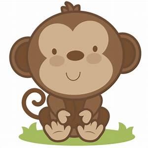 Baby Monkey SVG cutting file monkey svg cut file free svgs ...