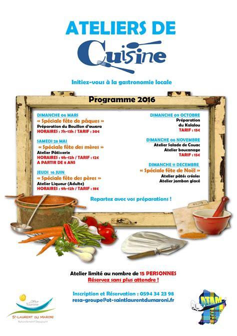 image atelier cuisine ateliers de cuisine programme 2016 office de tourisme